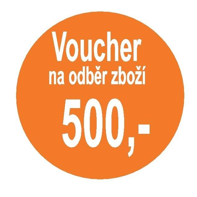 Poukaz na nákup potravin 500 Kč