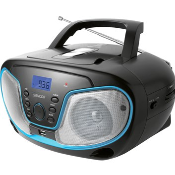 SENCOR SPT 3310 rádio s CD/MP3/USB/BT