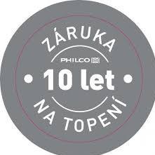 PHILCO 10 let záruka na topení