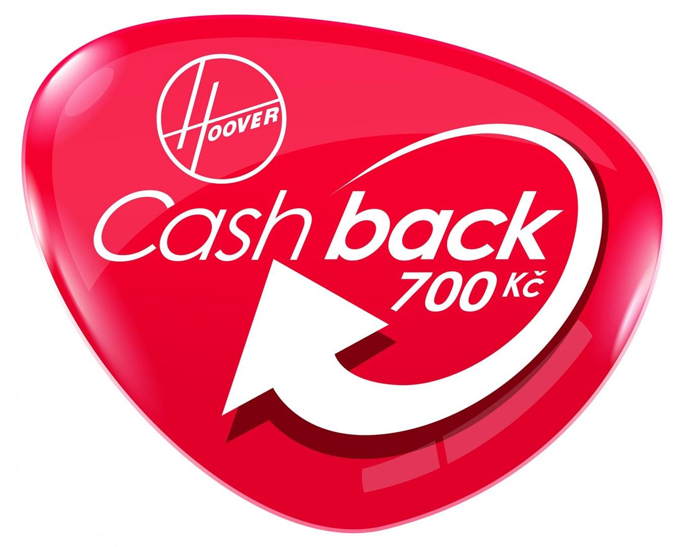 HOOVER CashBack 700 Kč