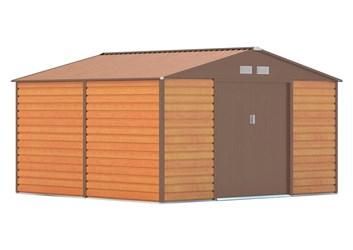 G21 Zahradní domek GAH 1085 - 340 x 319 cm, hnědý