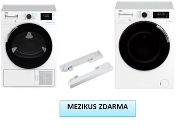 BEKO DH 8544 CSRX + WTV 8744 CSXWST set pračka a sušička