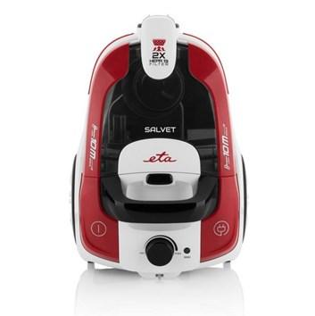 ETA Salvet 0513 90000 bílý/červený bezsáčkový vysavač