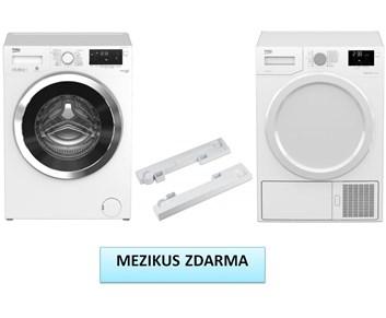 BEKO WMY 71283 LMB + DS 7433 CSPA set pračka a sušička