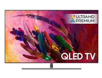 "SAMSUNG 65"" QE65Q7FN QLED ULTRA HD LCD televize - AKCE"