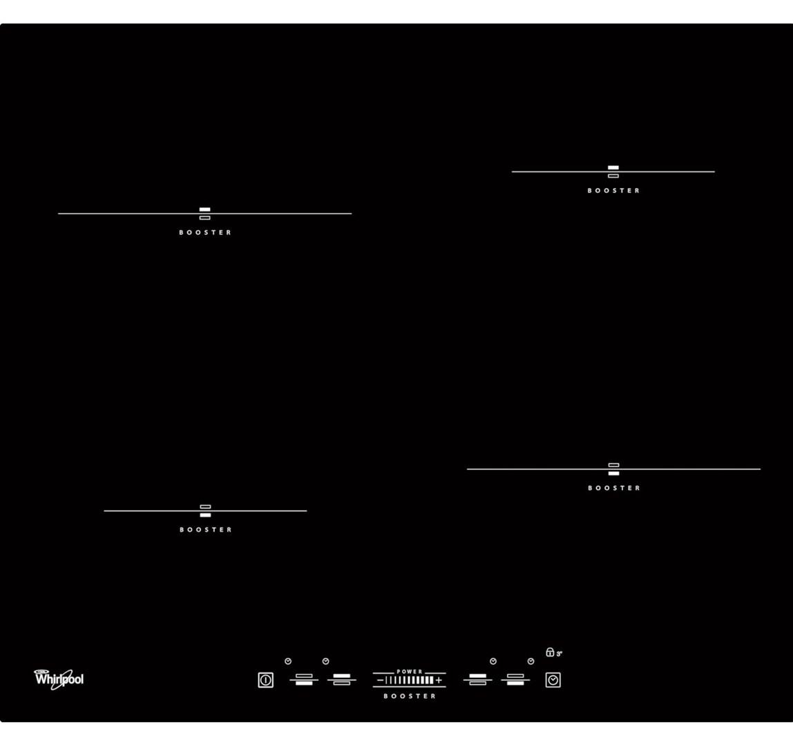 WHIRLPOOL ACM 836/BA indukční varná deska