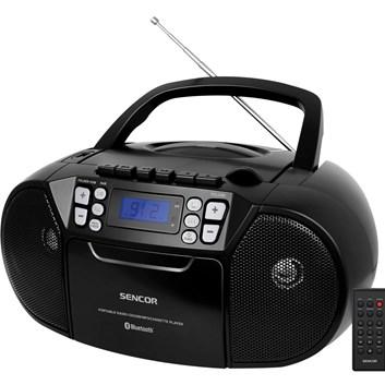 SENCOR SPT 3907 B Radiopřijímač s CD/USB/BT