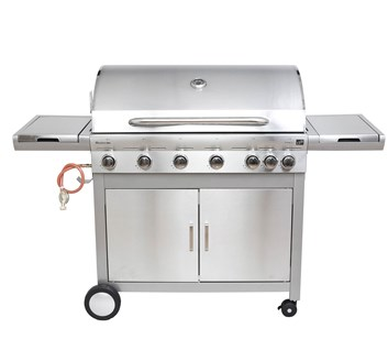 G21 Plynový gril Mexico BBQ Premium line, 7 hořáků + zdarma redukční ventil a grilovací jehla