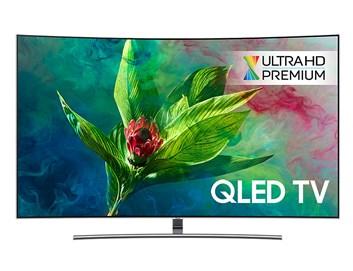 """SAMSUNG 55"""" QE55Q8CNA QLED ULTRA HD LCD prohnutá televize"""