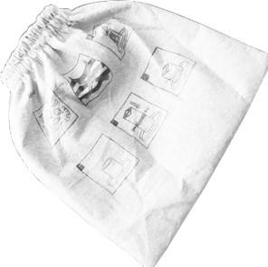 LAVOR Textilní předfiltr pro vysavač Poker