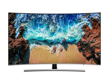 """SAMSUNG 65"""" UE65NU8502 LED ULTRA HD LCD prohnutá televize"""