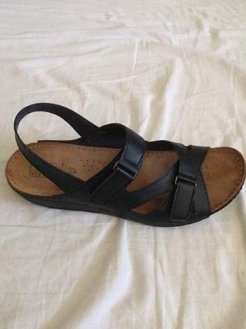 Dámské sandále na suché zipy 41