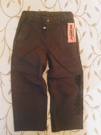 Slabé plátěné kalhoty 98,104,110.116