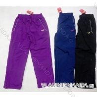 Teplé dívčí šustákové kalhoty  WOLF