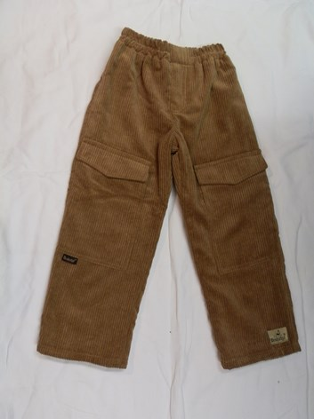 Chlapecké manšestrové zateplené kalhoty 122,140