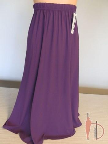 Fialová sukně jednobarevná LOPAC  46,48