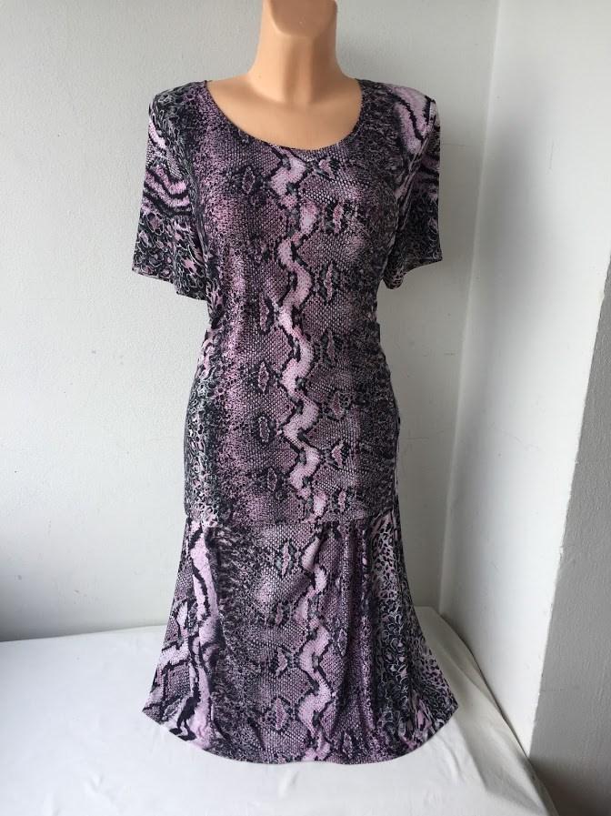 Kostým - halenka a sukně hadí vzor