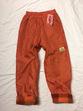 Dětské  termo kalhoty s teplou podšívkou