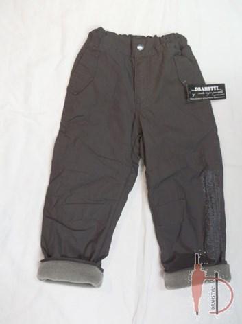 Dětské kalhoty uni zateplené 98,104,116