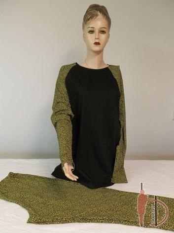 Domácí oblek- souprava kalhoty a triko DEVA