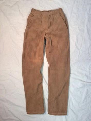 Dětské zateplené kalhoty z manšestru 134,140