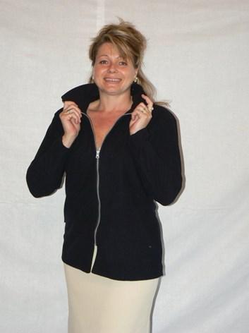Fleasová bunda prodloužená M,L,XL,XXL