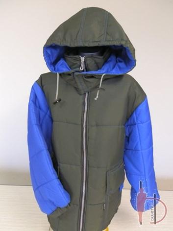 Zimní bunda 152/158 prošívaná