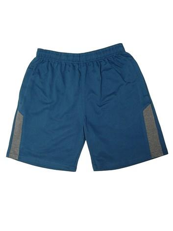 Bavlněné pánské šortky, kratasy modré