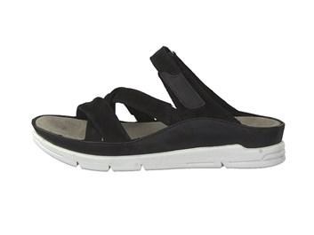Černé pantofle Tamaris nadměrná velikost 42