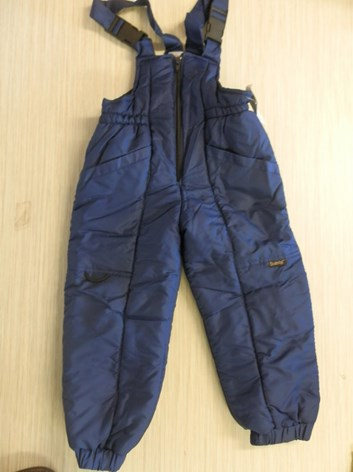 Lyžařské oteplovací dětské kalhoty 92-152