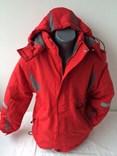 Červená lyžařská bunda 128