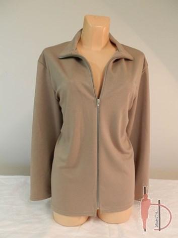 Úpletový propínací dámský kabátek