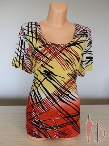 Dámské barevné triko duhované GALO