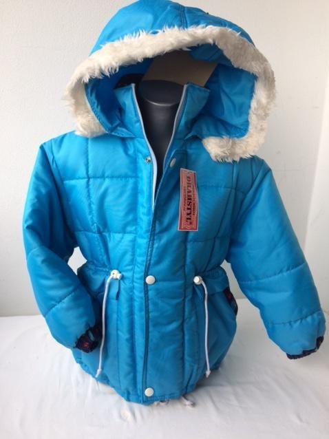 Dívčí zimní bunda kabát 116