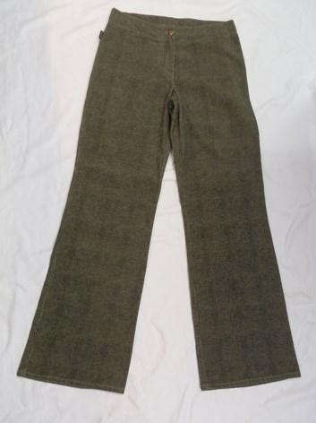 Dámské manšestrové kalhoty 42