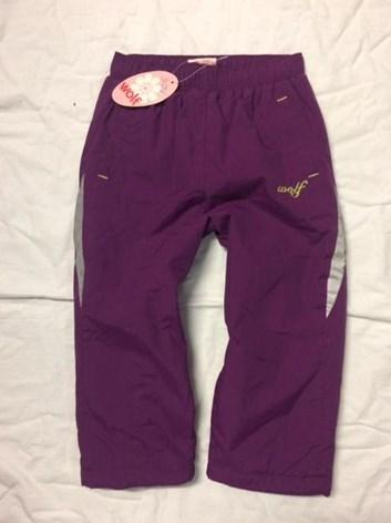 Kojenecké šustákové kalhoty wolf teplé