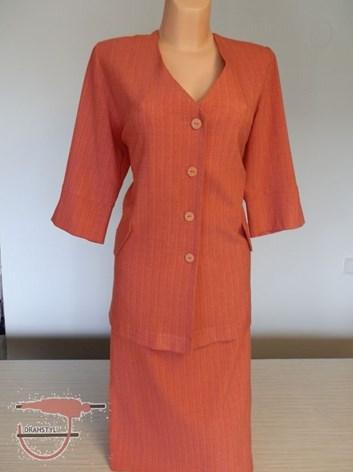 Kostýmkové sako s rovnou  sukní NANA 46