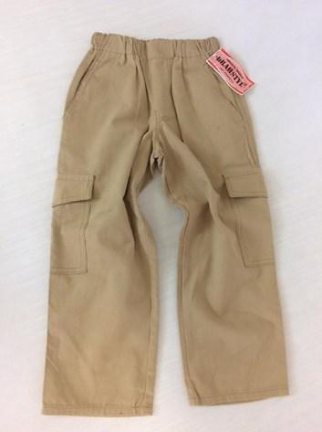Letní chlapecké i dívčí plátěné kalhoty 92-152