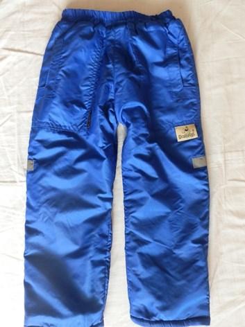 šusťákové kalhoty s teplou podšívkou  98-140