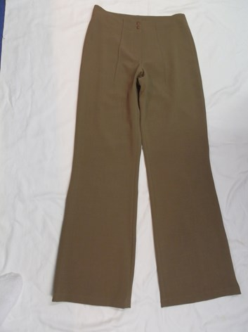 Dámské béžové kalhoty elastické 38,40,42,44,46,48