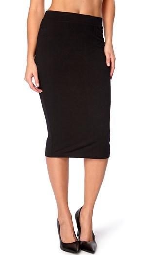 Dámská černá sukně FANA
