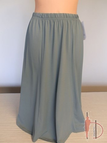 Jednobarevná rozšířená sukně ZELKA  48,50,52,54