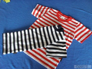Tričko Námořníček pruhované 92,98,104,110,116,122,128
