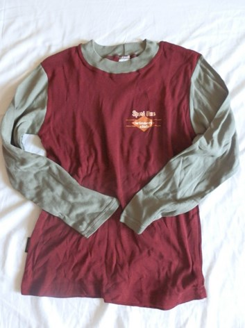 Bavlněné dorostenecké  tričko 146,164