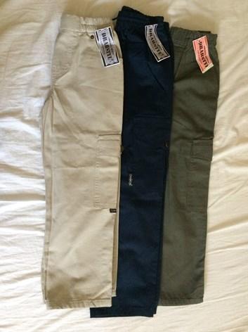 Slabé kalhoty EMIL - letní kalhoty pro kluky 128