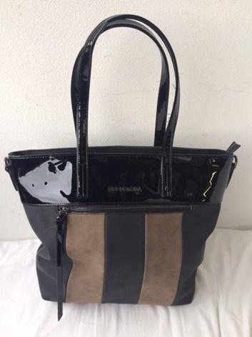 Kombinovaná kabelka s dlouhými uchy