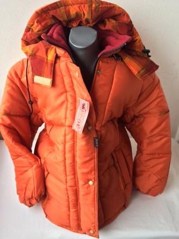Zimní bunda teplá dívčí 158 a 164