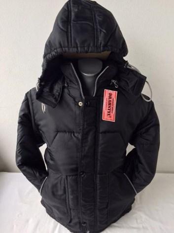 Dětská zimní bunda černá 134,140