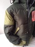 Zimní chlapecká KHAKI bunda 140