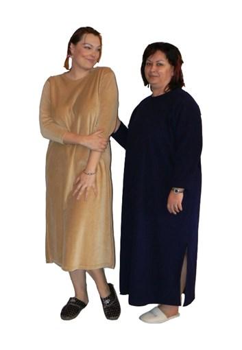 Domácí šaty Leona - teplé M,L,XL,XXL,XXXL